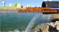 Tư vấn lập báo cáo tình hình xả nước thải vào nguồn nước