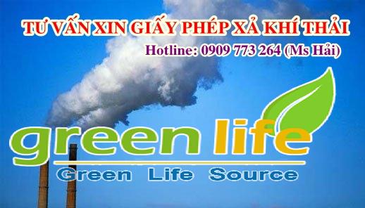 giấy phép xả khí thải